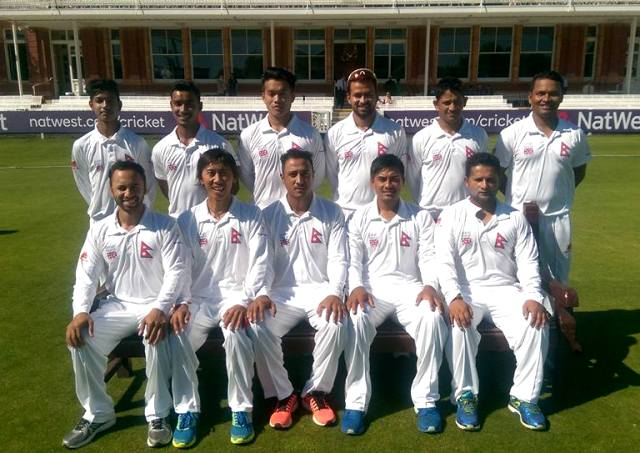 Nepali Cricket Team at Lords