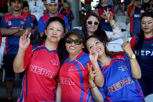 Nepali Cricket Team Fans