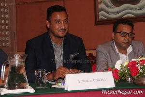 Paras Khadka ( Captain, Vishal Warriors )
