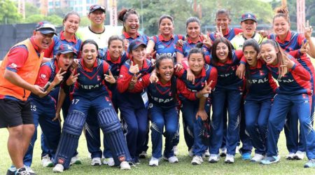 Nepal women's cricket team : Runner Up