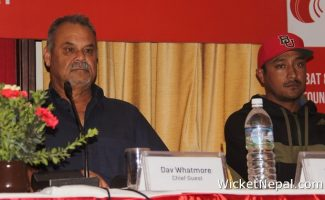 Dav Whatmore , Paras Khadka