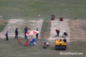 Pitch of TU Cricket Ground