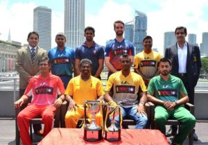 Singapore club international T-20 captains