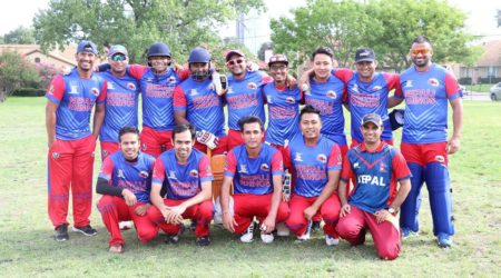 Nepali Rhinos Victorious in their First Match of Dallas Premiere League.