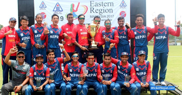 Nepal Winner ACC U19 Eastern Region 2017