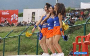 Cheerleaders in Everest Premier League