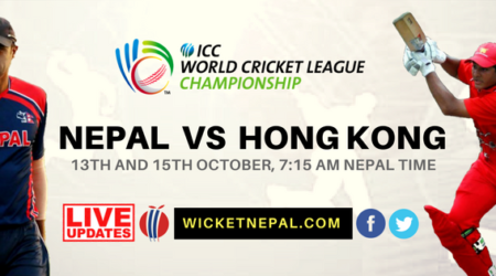 WCLC Nepal vs Hong Kong