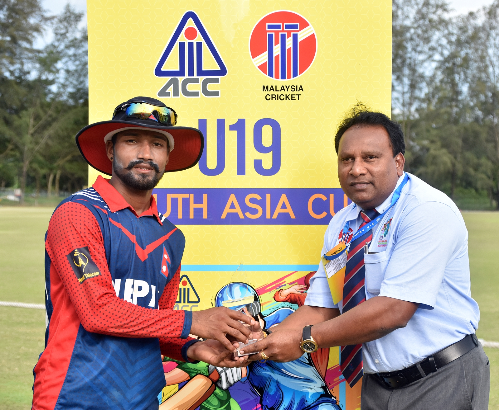 Dipendra Airee Man of the match