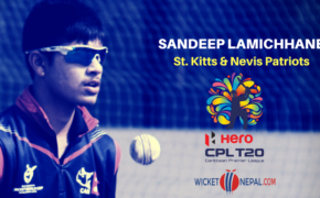 Sandeep Lamichhane in Carribean Premier League (CPL)